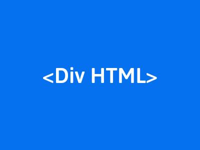 belajar div pada html