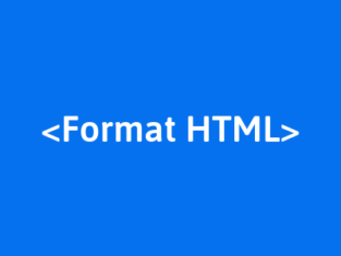 membuat format text html
