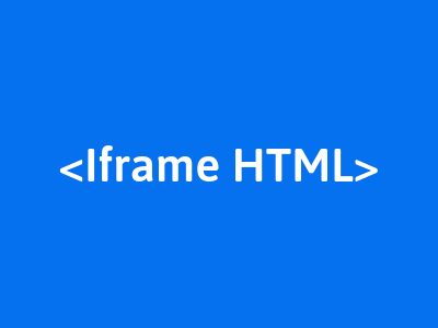 membuat iframe pada html
