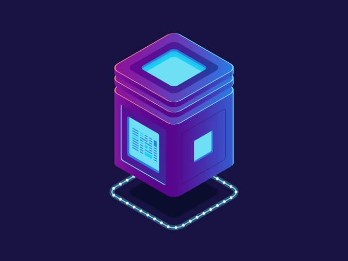 ilustrasi perbedaan dedicated server