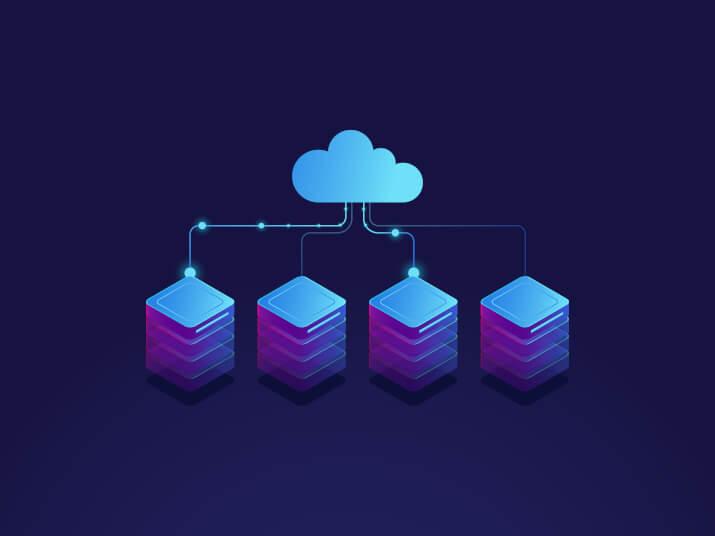 perbedaan ilustrasi shared hosting