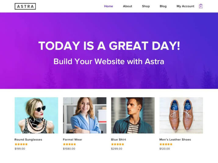 theme wordpress astra
