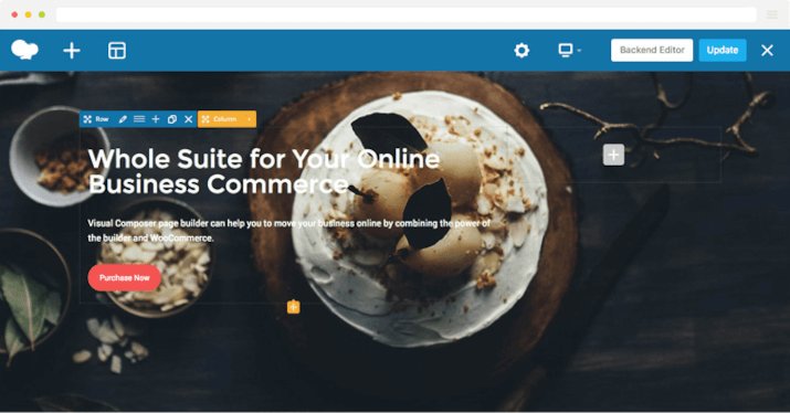 page builder wpbakery